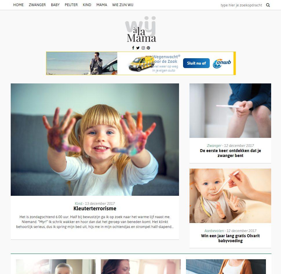 Wij à La Mama Online Advertentiemogelijkheden Wij Special Media Bv